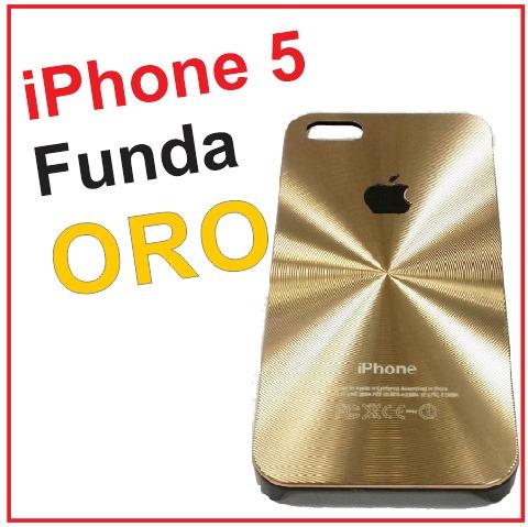funda case oro apple iphone 5 5s celular