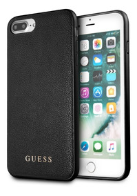 0fabd9c26fe Funda Case Piel Guess Negro Para iPhone 6+,7+,8+ Original