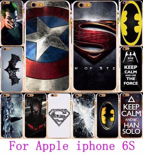 funda case protector carcasa para iphone 6s y 6 diseños 2016