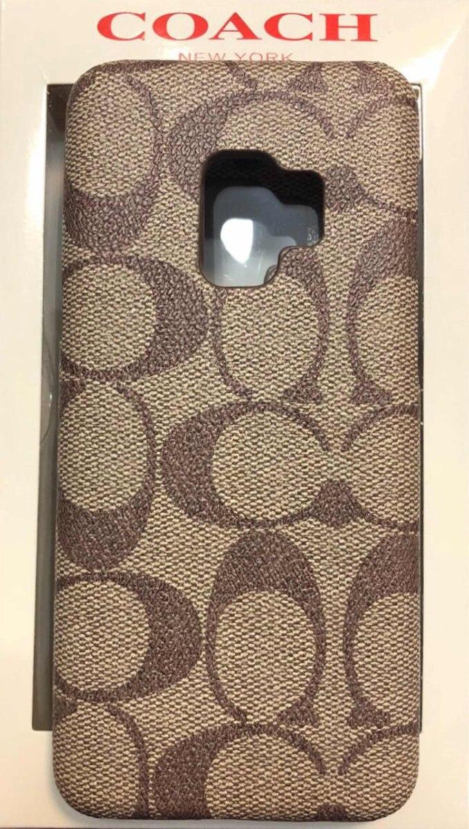 pretty nice 1ec99 e1156 Funda Case Protector Coach Logos Samsung S9 Y S9 Plus !!