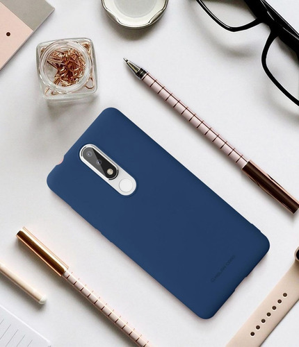 funda case protector gel silicona para nokia 5.1 plus jelly