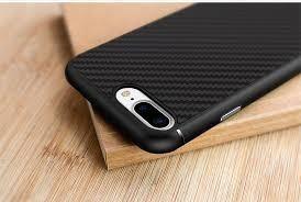 funda case protector iphone 7 / 8 fibra carbono nillkin