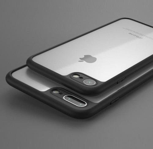 funda case protector iphone 7/8/plus+ protector pantalla