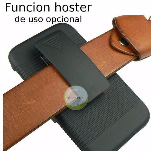 funda case protector lg g5 / se holster armor hibrid 3 capas