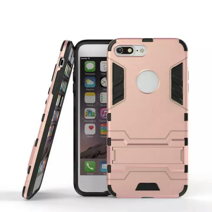 e6d739869ba Funda Case Protector Para iPhone 6s Rosa Con Soporte - $ 155.00 en ...