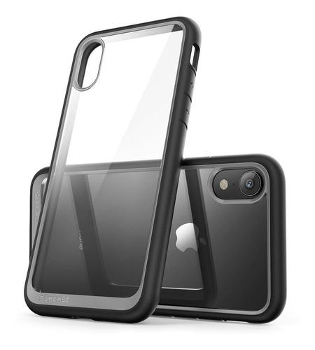 funda case protector transparente supcase iphone xr 6.1 2018