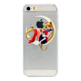 Funda Case Protector Variados Transparente iPhone 5 5s Se