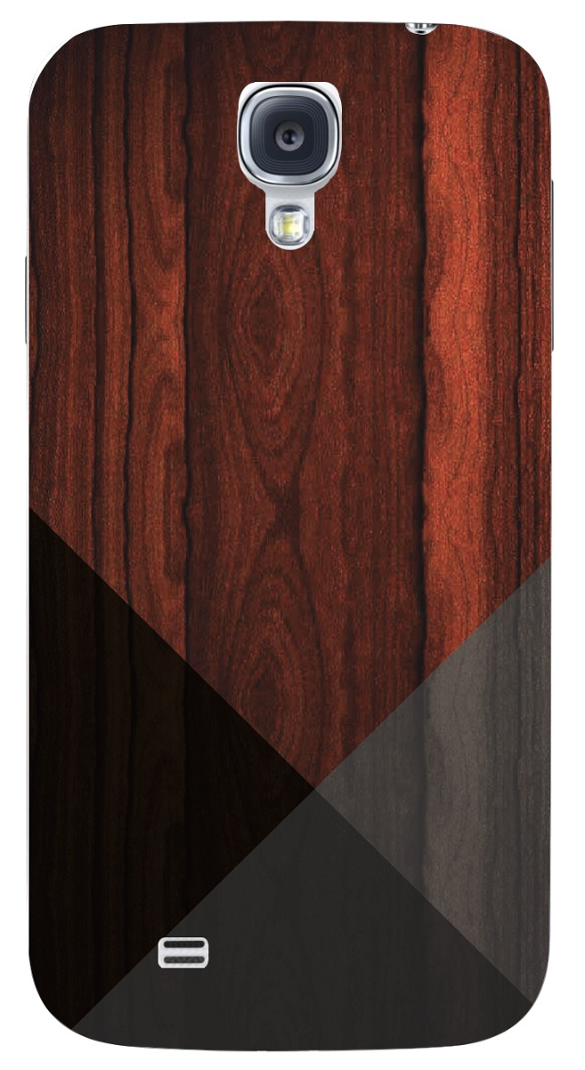 82b1a5eb5da Funda Case Samsung Galaxy S4 - Madera Con Triangulos - $ 199.66 en ...