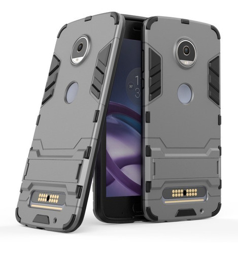funda case shockproof moto z2  play