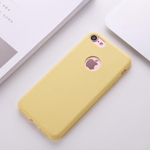funda case silicona iphone xr en caja colores tienda