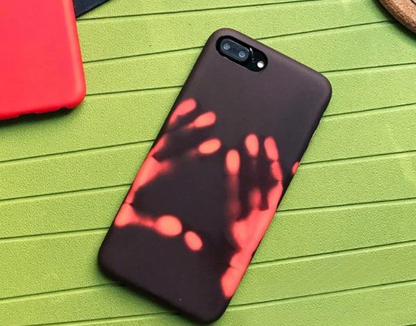 en pies tiros de tienda de descuento colección de descuento Funda Case Termica iPhone 7 Plus 8 Plus Cambia D Color