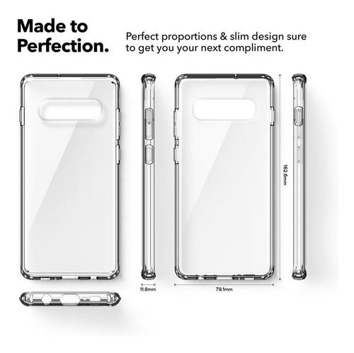 funda caseology samsung s10 plus waterfall proteccion clear