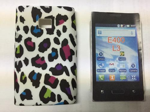 funda celular lg e400 l3