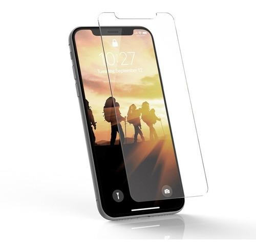 funda clear edge premium + vidrio iphone x xs xr xs max