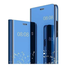Funda Clear View Flip Cover Samsung Standing Colores
