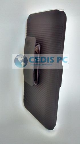 funda clip (holster case combo)  alcatel ot5038 d5 + mica