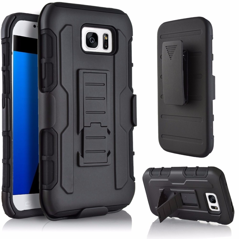 Funda Clip Uso Rudo Para Samsung Galaxy S7 Edge 199 00