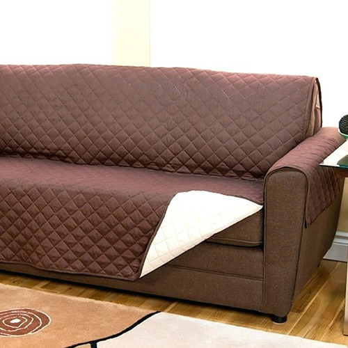 funda cobertor cubre sofa 2 cuerpos sillon reversible