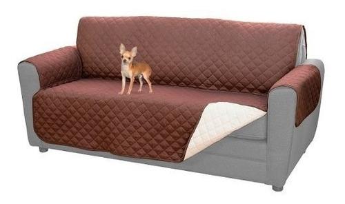 funda cobertor mascotas 3 cuerpos reversible sofá sillón