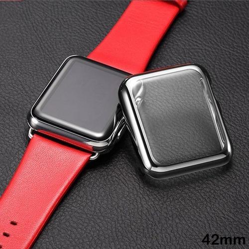 funda completa con electrochapa apple watch series 2 3 42 mm