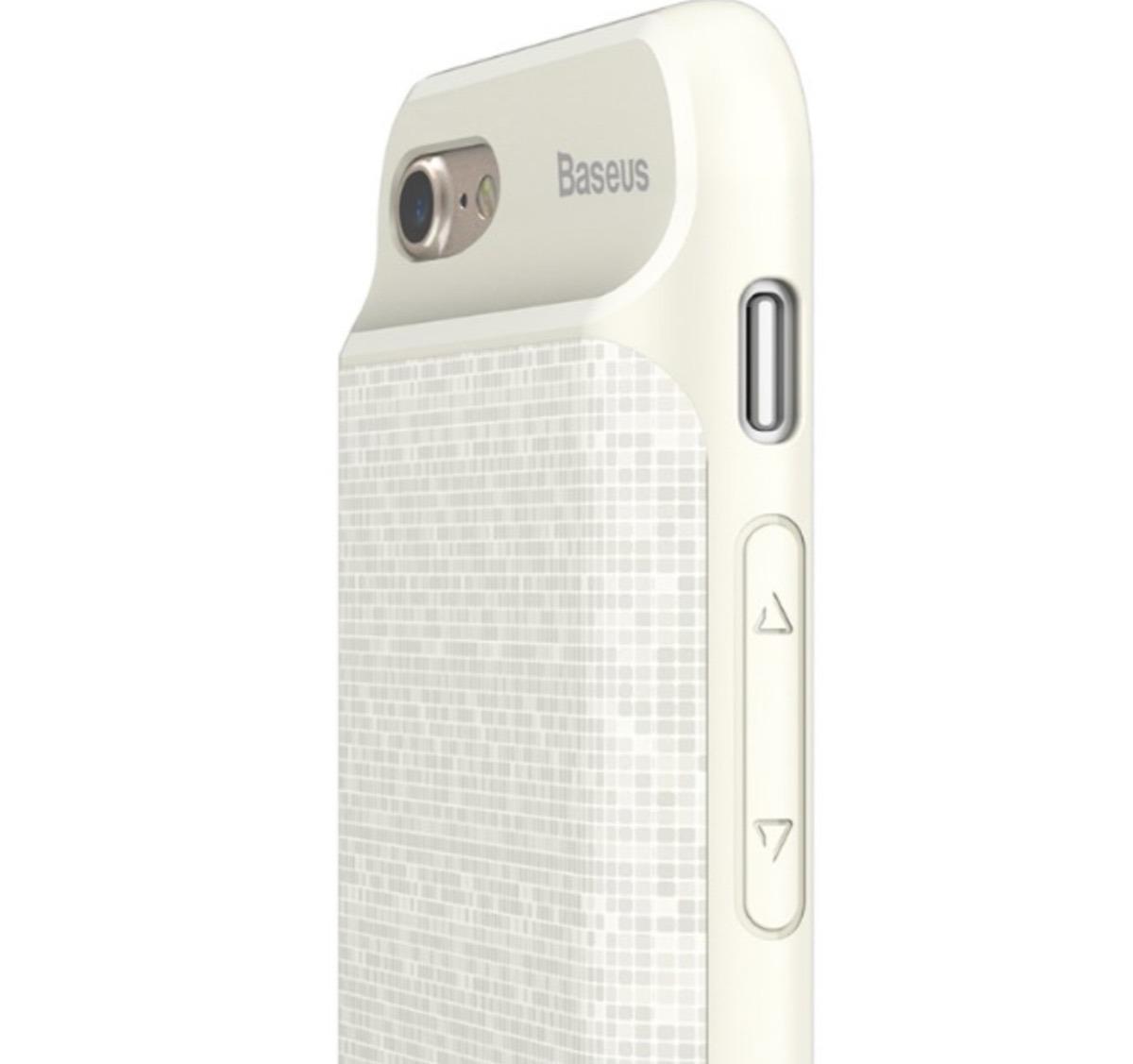 70c7957f8d6 funda con bateria iphone 7 8 contra golpes baseus blanca. Cargando zoom.