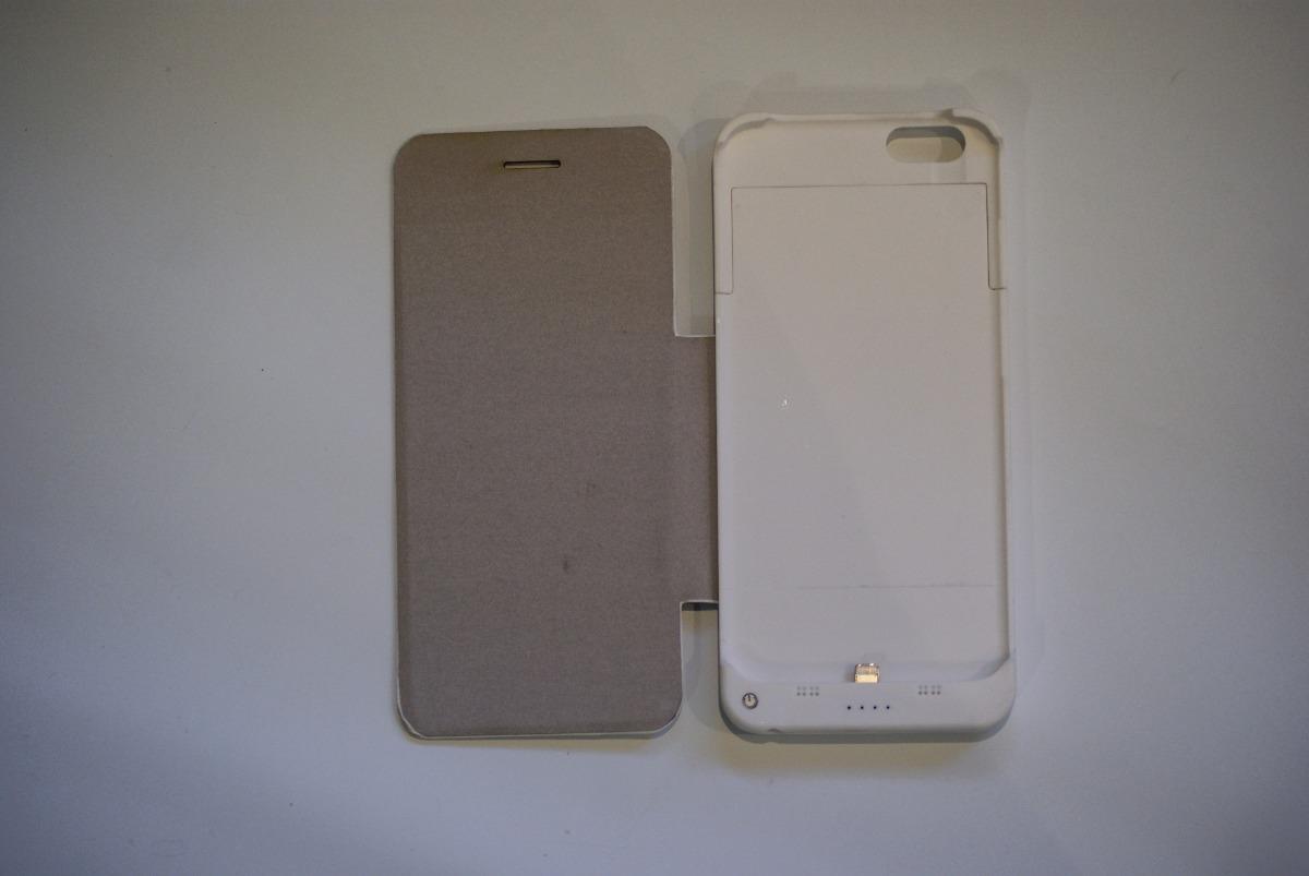 85702494c2b Funda Con Bateria Kelyx Para iPhone 6/6s/7 Plus Blanca - $ 689,00 en ...