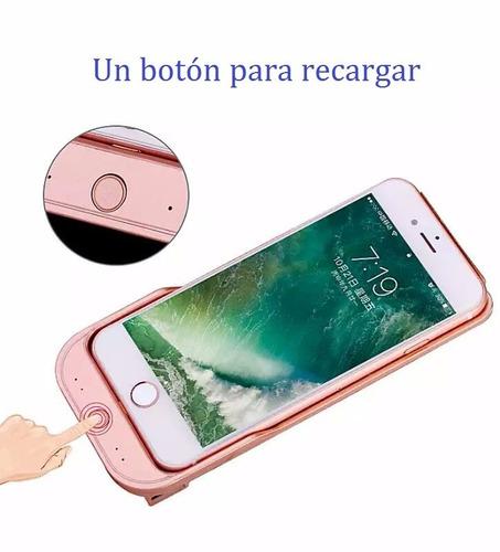 funda con bateria recargable para iphone 6/6s/7