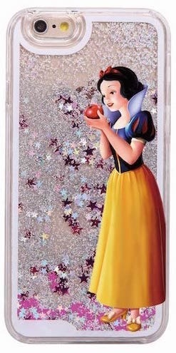 8be7520f2be Funda Con Liquido Princesa Blanca Nieves iPhone 5 6 - $ 199,00 en ...