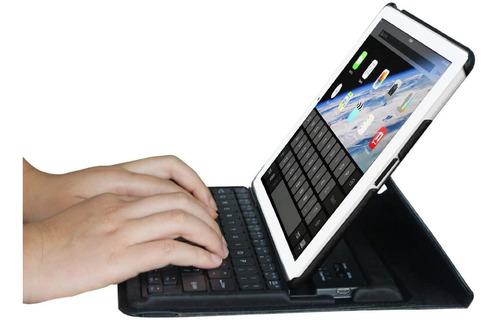funda con teclado ipad 4 3 2 a1458/a1459/a1460a1416 y mas!