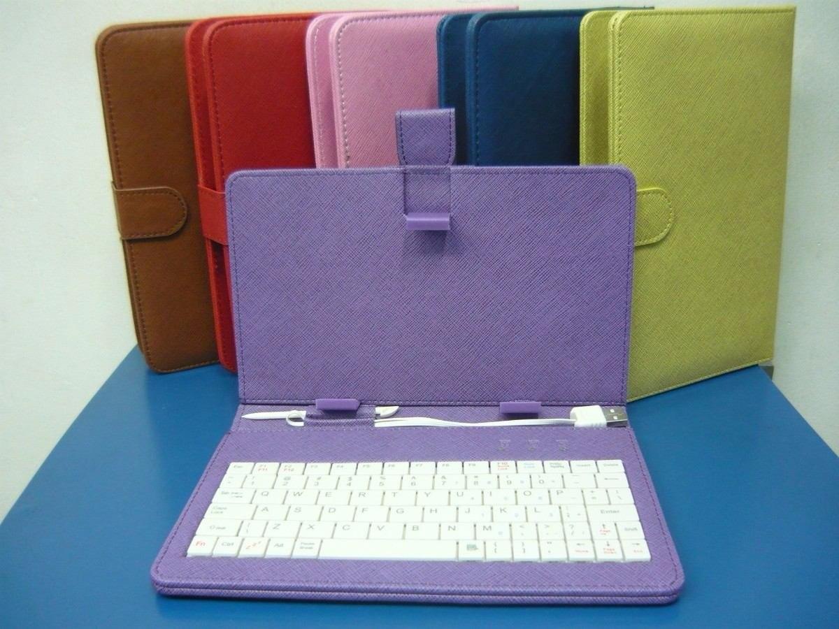 Funda con teclado mini usb micro usb usb para tablet 7 en mercado libre - Fundas con teclado para tablet ...
