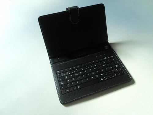 Funda con teclado para tablet 7 usb 2 0 en mercado libre - Fundas con teclado para tablet ...