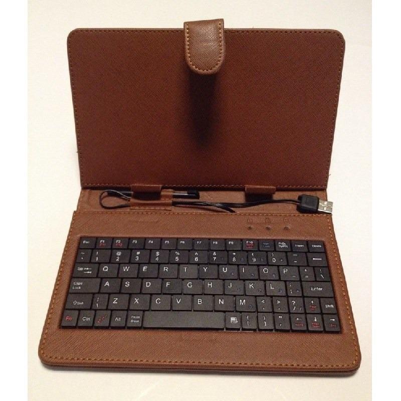 Funda con teclado usb para tablet 7 pulgadas s 23 00 en mercado libre - Fundas de tablet de 7 pulgadas ...