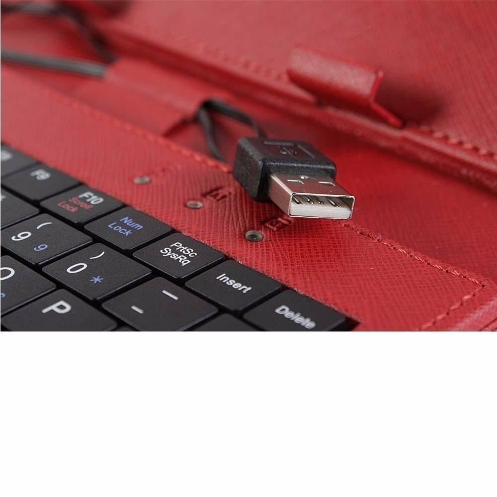 Funda con teclado usb tablet 7 pulgadas stylus galaxy colore en mercado libre - Funda tablet con teclado 7 ...