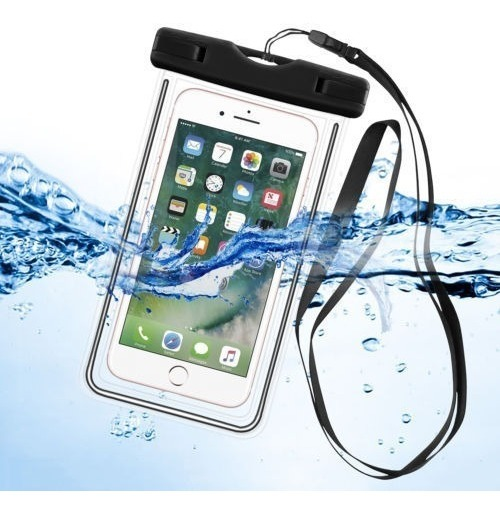 8f113865e17 Funda Contra Agua Sumergible Para Smartphone Universal - $ 110.00 en ...