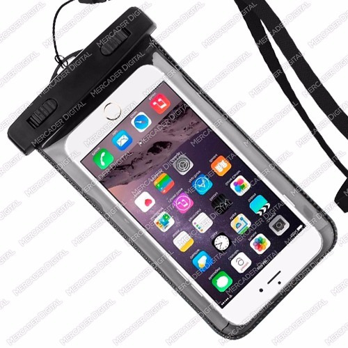 funda contra agua universal samsung / android y iphone 6 7