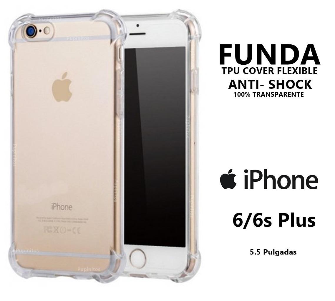 8a7deb2e908d funda cover antishock transparente iphone 6 6s plus rosario. Cargando zoom.
