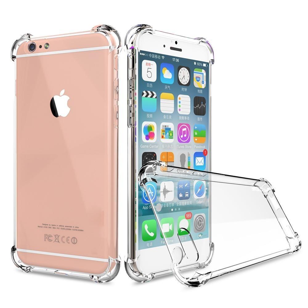 1f9d7772145 funda cover antishock transparente iphone 6 6s plus rosario. Cargando zoom.