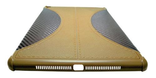 funda cover carbon fiber ipad  5a 6a 8a generacion ! a1822