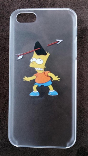 funda cover case bart simpson iphone 5 5s