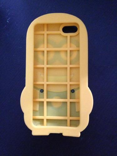 funda cover case silicona minion - minions iphone 5 5s