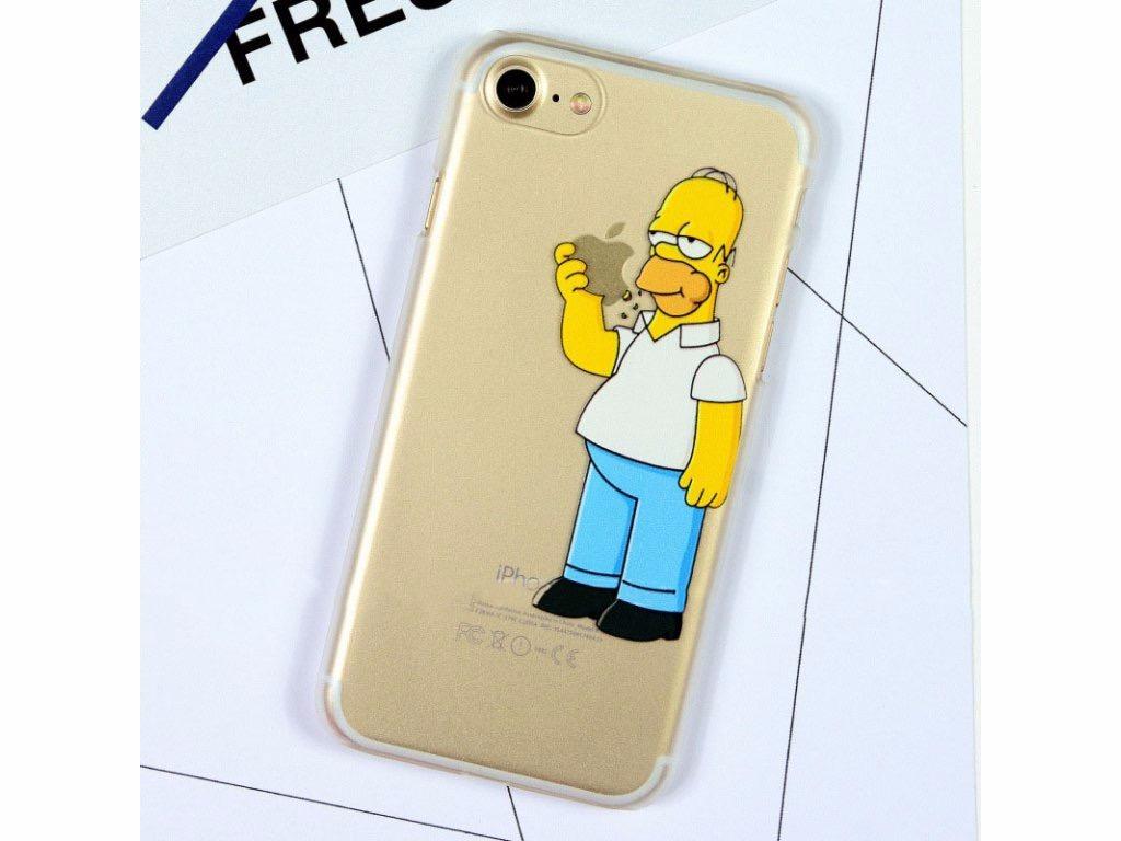ab0cd02d51e Funda Cover iPhone 6 - 6 Plus - 6s 5 5s 5se 7 7 Plus Simpson - $ 299 ...