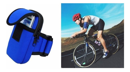 funda cover porta deportivo porta celular ciclismo gym y más