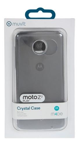 funda crystal case muvit para motorola z2 play