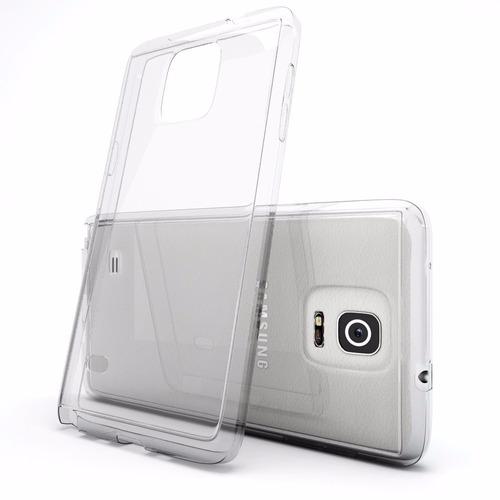 funda crystal case tpu transparente samsung note 4 n910