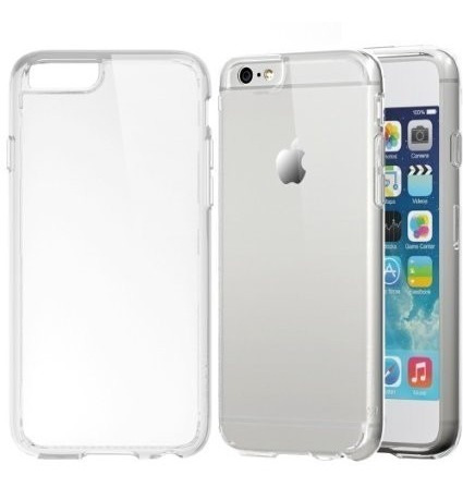 bd51afc5c28 Funda Crystal Case Transparente iPhone 4 4s 5 5s 5c 6 6 Plus ...