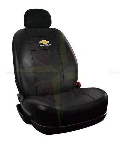 funda cubre asiento cuero chevrolet s10 c/ asiento trasero repartido ( juego completo )