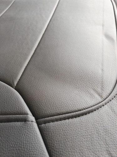 funda cubre asiento eco cuero auto simil cuero premium