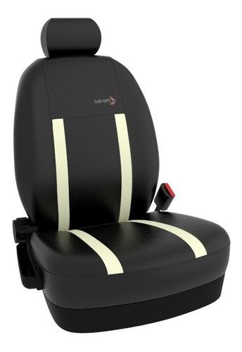 funda cubre asientos cuero ecológico p/ toyota corolla mkr