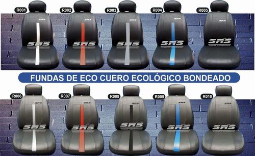 funda cubre asientos de cuero ecológico sandero stepway srs