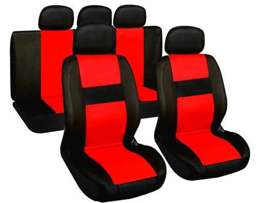 funda cubre asientos para auto cuero ecológico mejor calidad